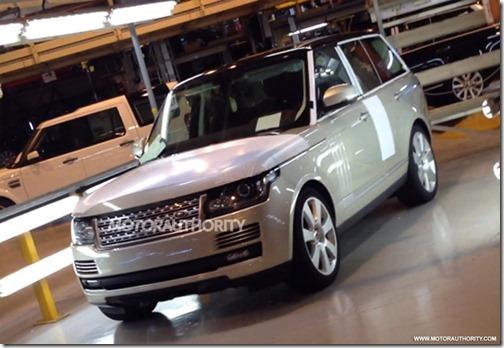 Nouveau Range Rover 2013