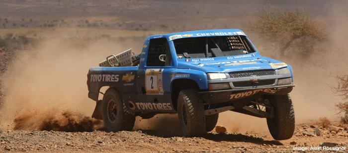 Eric Vigouroux et Toyo : 2ème victoire au général des 24 heures tout terrain du Maroc