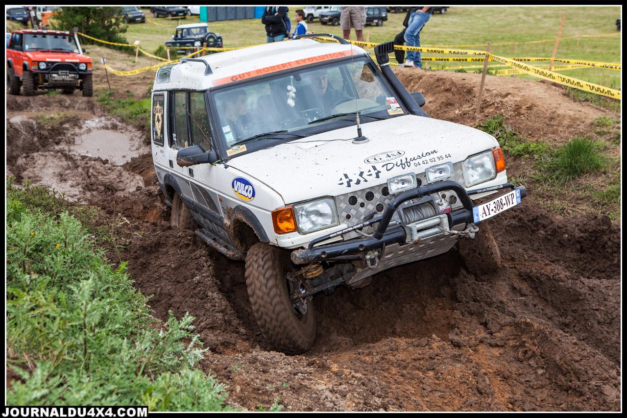 Un discovery dans la boue