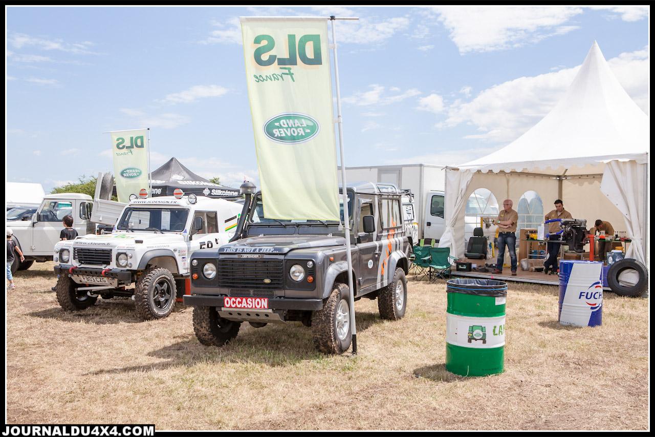 DLS France présentait de beaux Land Rover