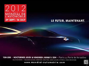 mondial de l'automobile Paris 29 septembre 14 octobre