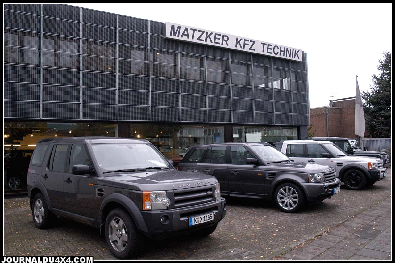 La concession Matzker à Cologne.