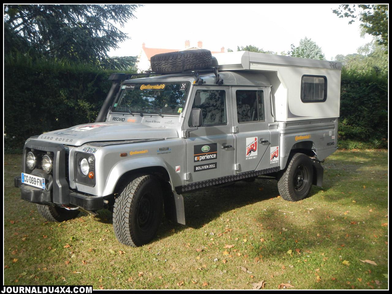 Cellule 4x4 pour Land Rover