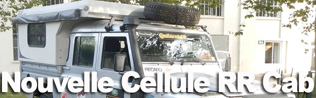 Cellule amovible RRCab pour Defender 130, nouvelle version