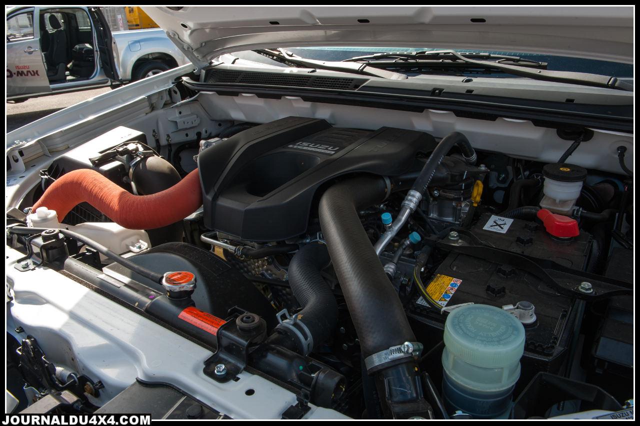 Nouveau moteur 2.5l mais avec plus de couple, un aspect très appréciable pour les professionnels qui tractent des charges