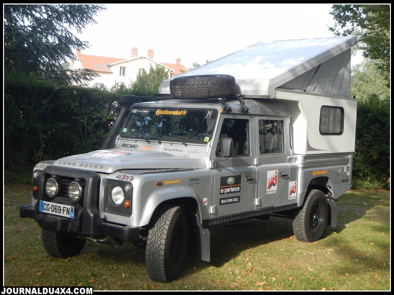 Cellule 4x4 pour Defender 130