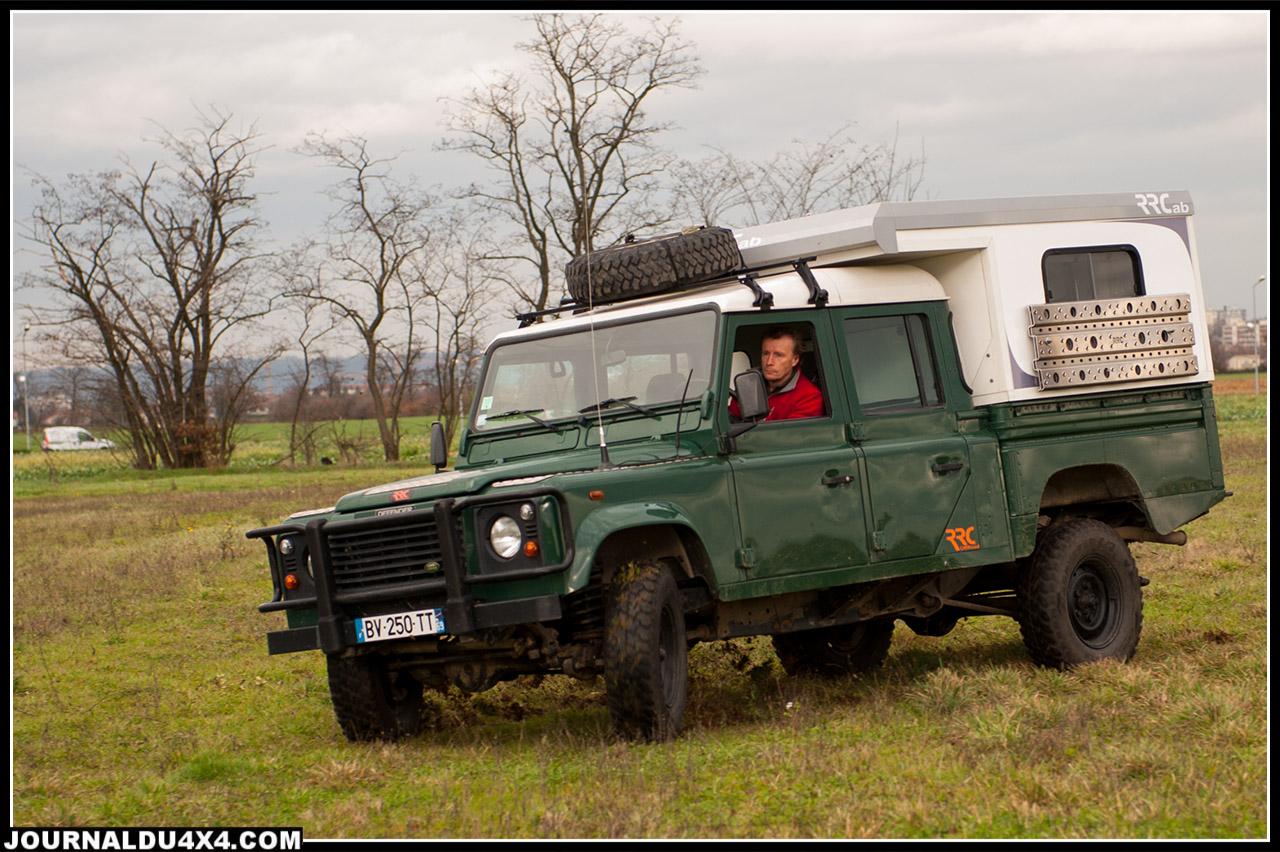 Le 130 Land Rover reste un franchisseur hors paire