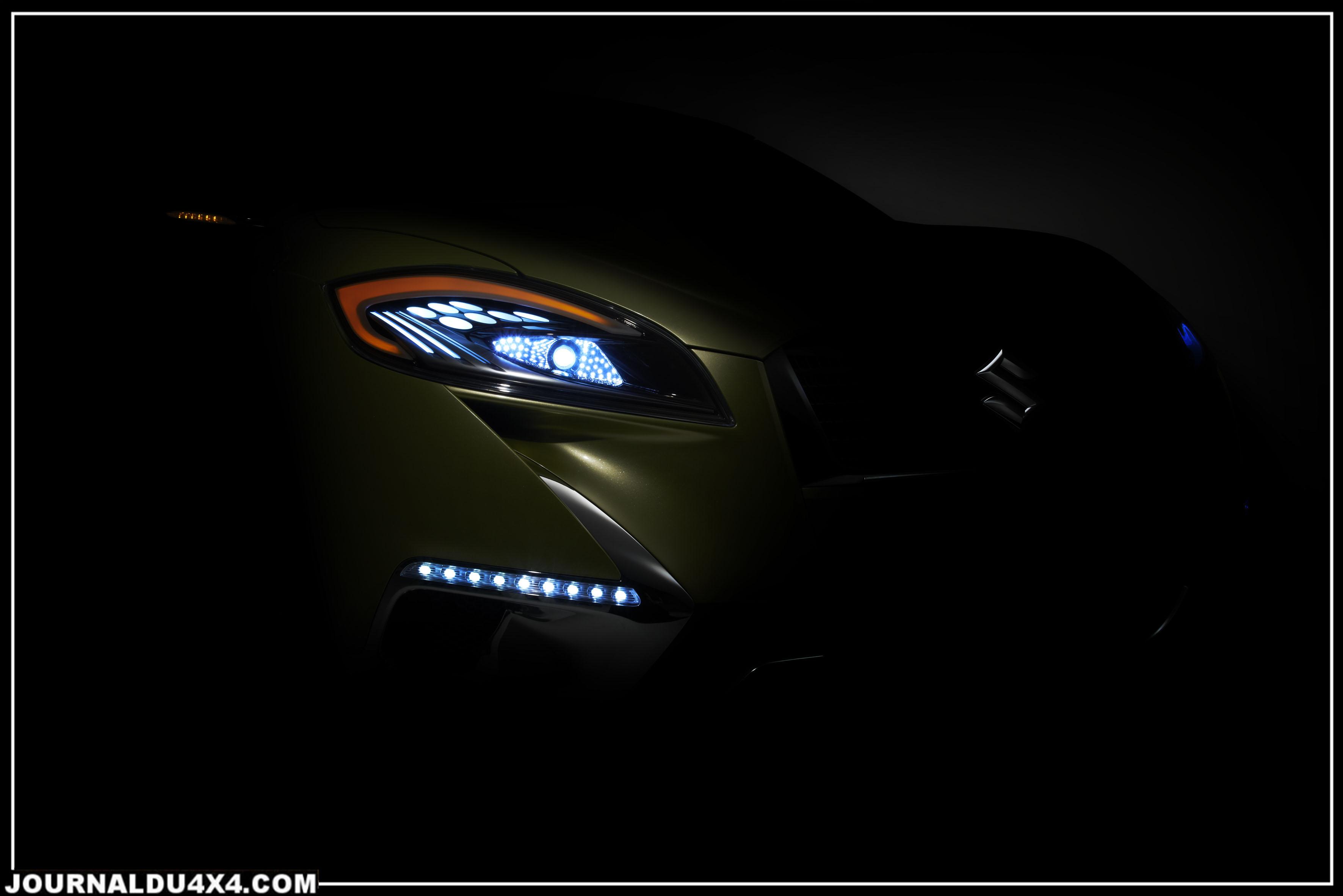 scross le futur crossover de Suzuki