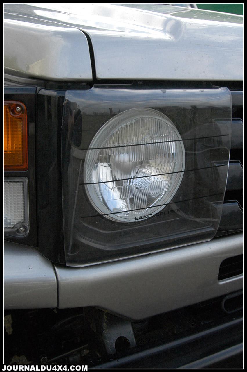 Protections de phares «plexi» Toyota