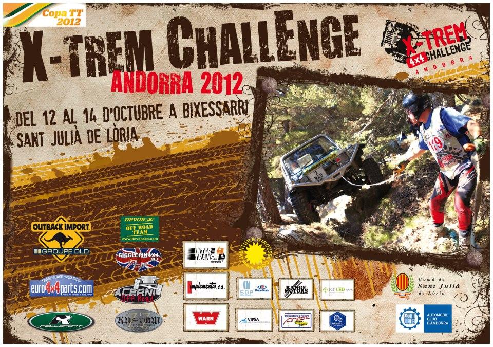 XTREM Challenge Andorra 12-13-14 Octobre 2012