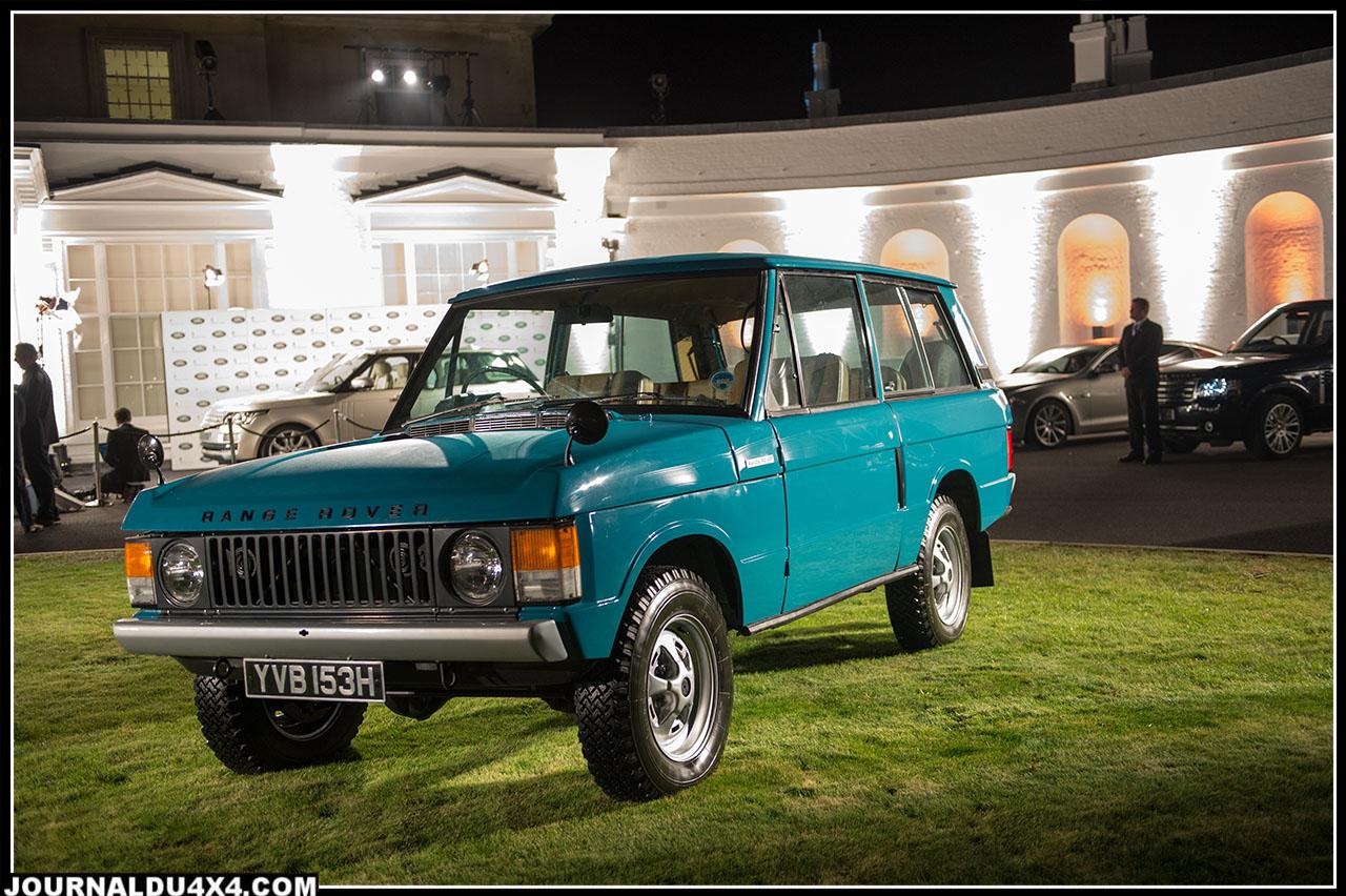 la première version du Range Rover