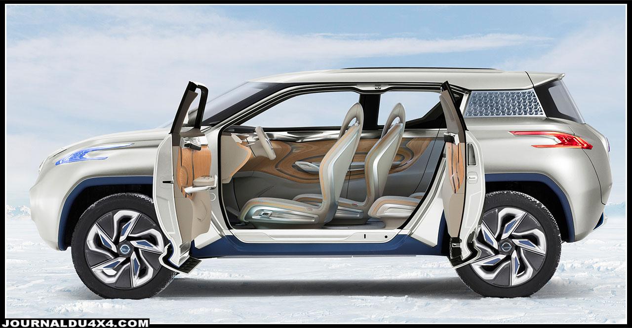 Nissan TeRRa un SUV électrique Concept Car