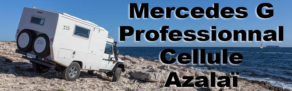 Mercedes G Professionnal cellule Azalai