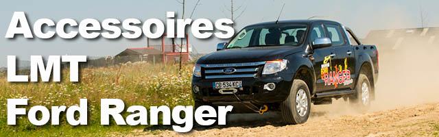 Ford Ranger : de nouveaux accessoires LMT disponibles