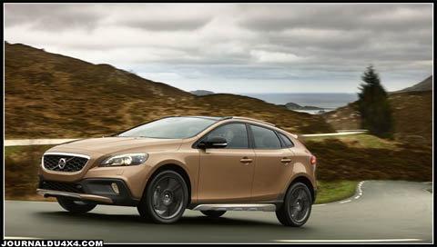 volvo v40 cross country magazine 4x4 suv. Black Bedroom Furniture Sets. Home Design Ideas