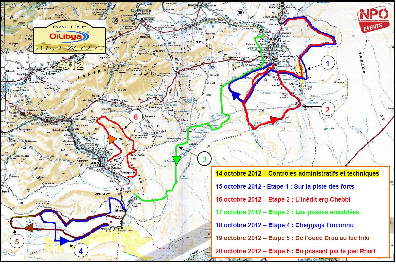 Rallye du Maroc 2012 Oilibya