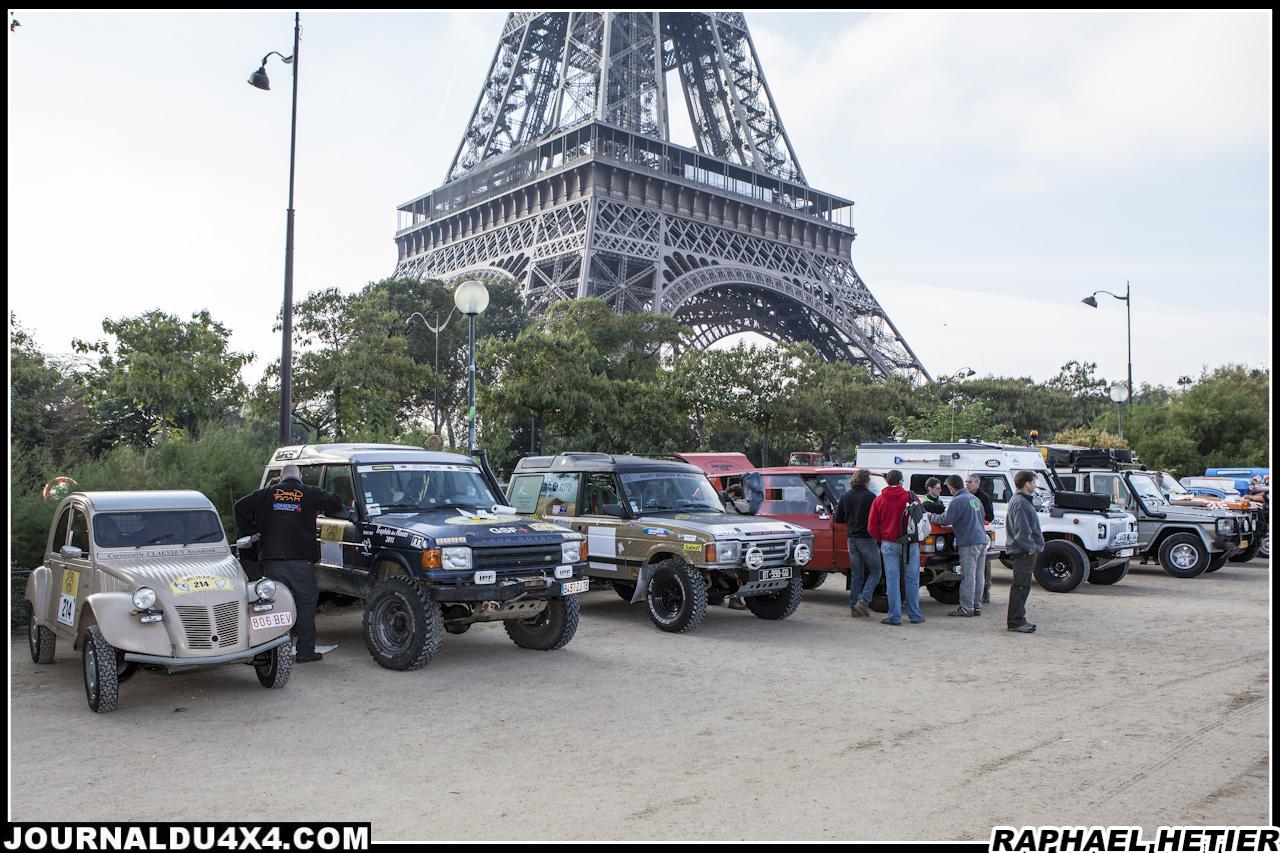 Rallye des jojo : les jojo se souviendront de ce départ