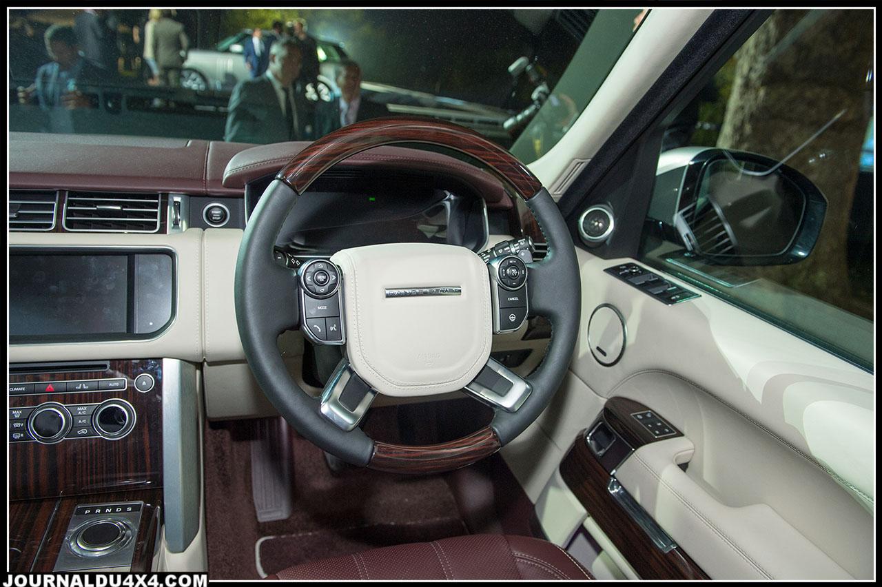 intérieur du nouveau range rover : luxe luxe et luxe