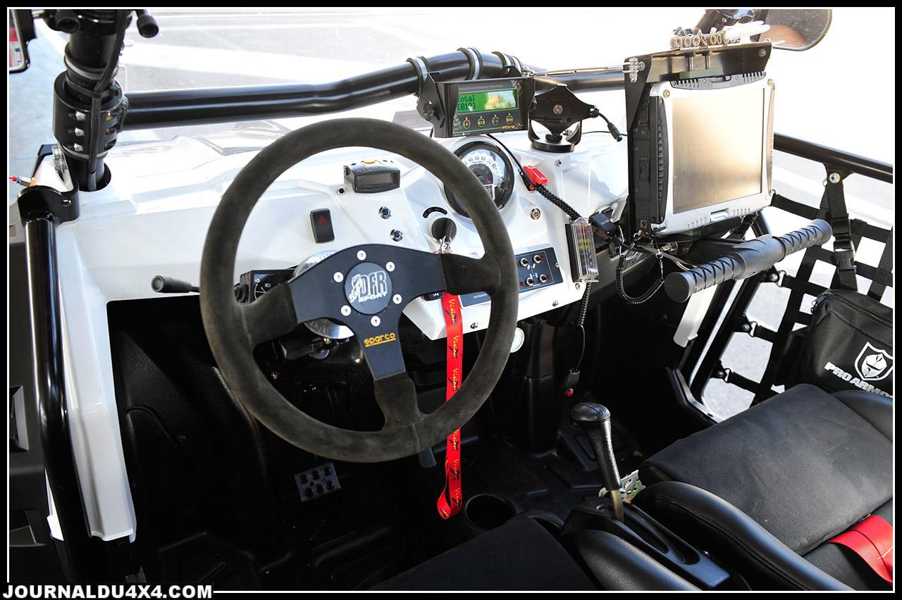 Le volant Spacro améliore la prise en main et la précision du pilotage