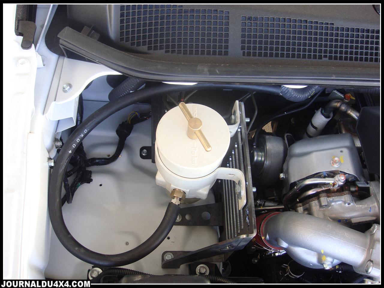 Kit de montage pré-filtre à gasoil RACOR 500FG pour Isuzu Dmax 2012
