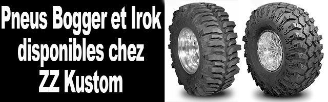 Super Swamper Irok et bogger prix et tailles disponibles (ZZ KUSTOM)