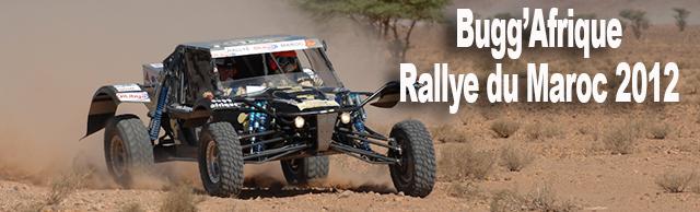 Le team Bugg'Afrique excelle au rallye  oilibya du Maroc 2012