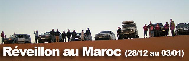 Réveillon insolite au Maroc 28 décembre 2012 – 3 janvier 2013