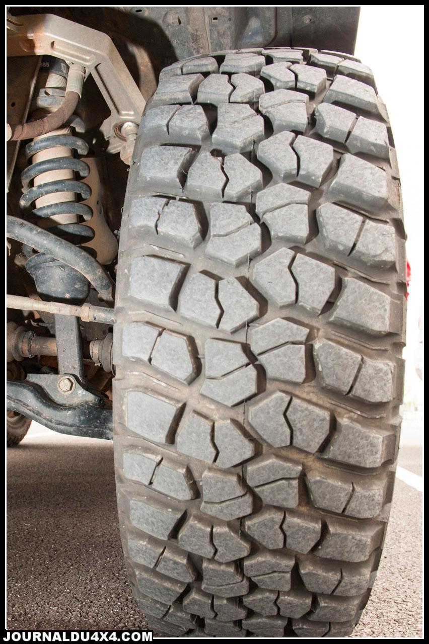 BF Goodrich mud TA KM2, un très bon pneu pour le terrain marocain
