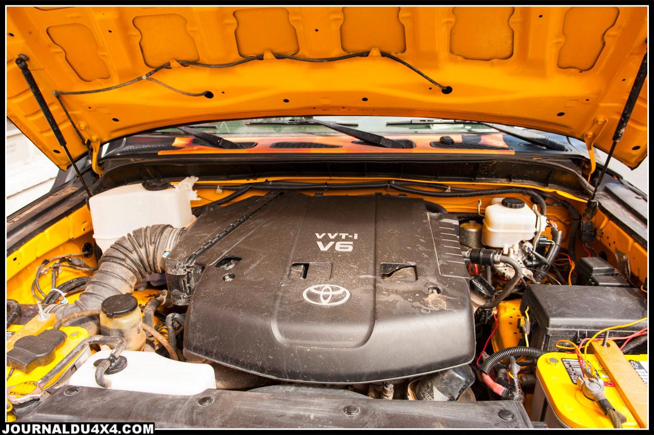 Moteur V6 essence 240 ch, ça pousse fort mais ça consomme beaucoup