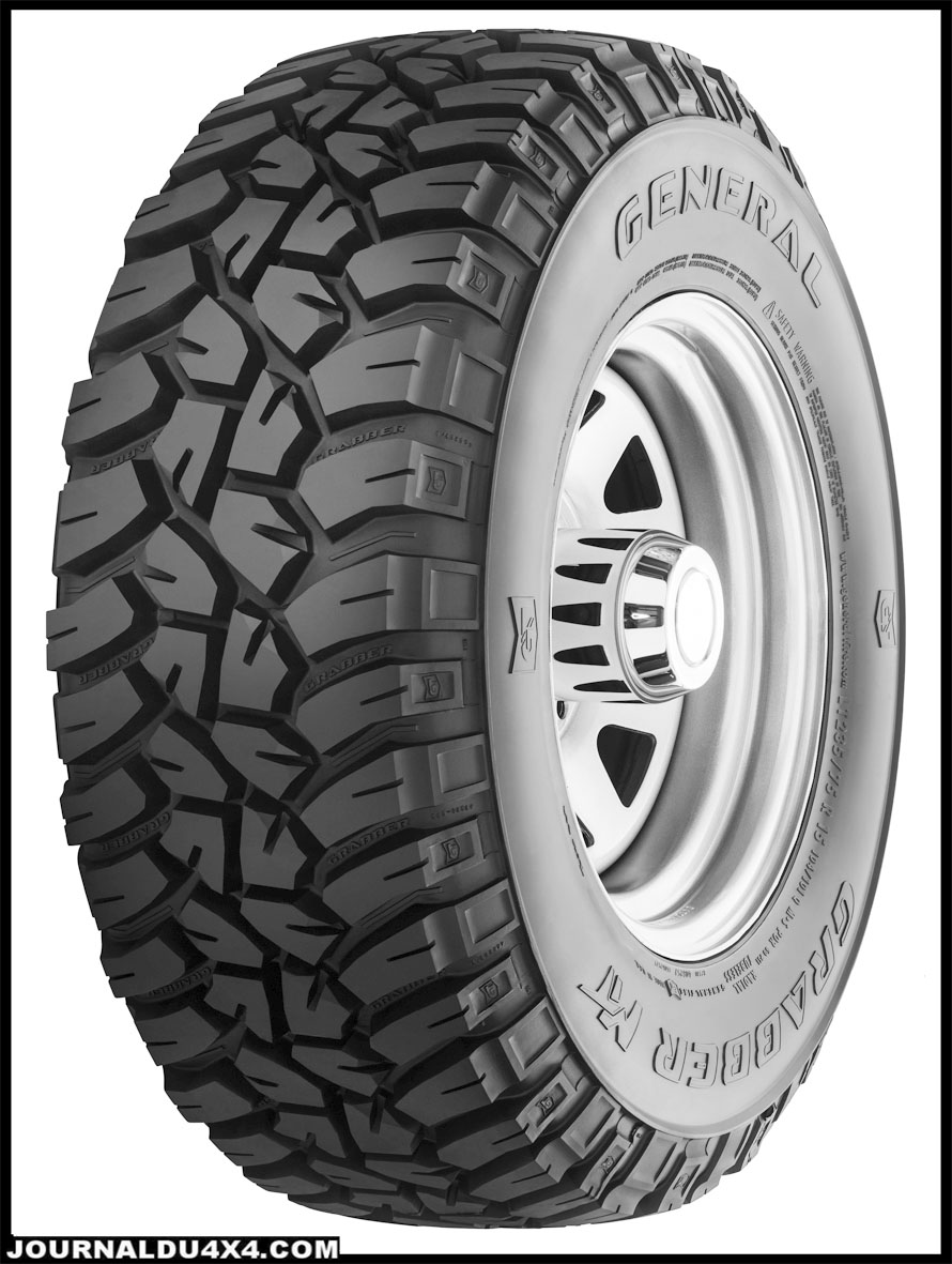 pneu grabber mt general tire nouveau profil mud magazine 4x4 suv. Black Bedroom Furniture Sets. Home Design Ideas