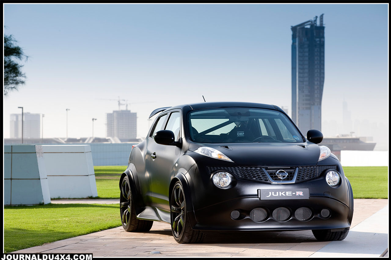 Nissan Juke R 545 ch un cadeau de Noël à 500 000 €