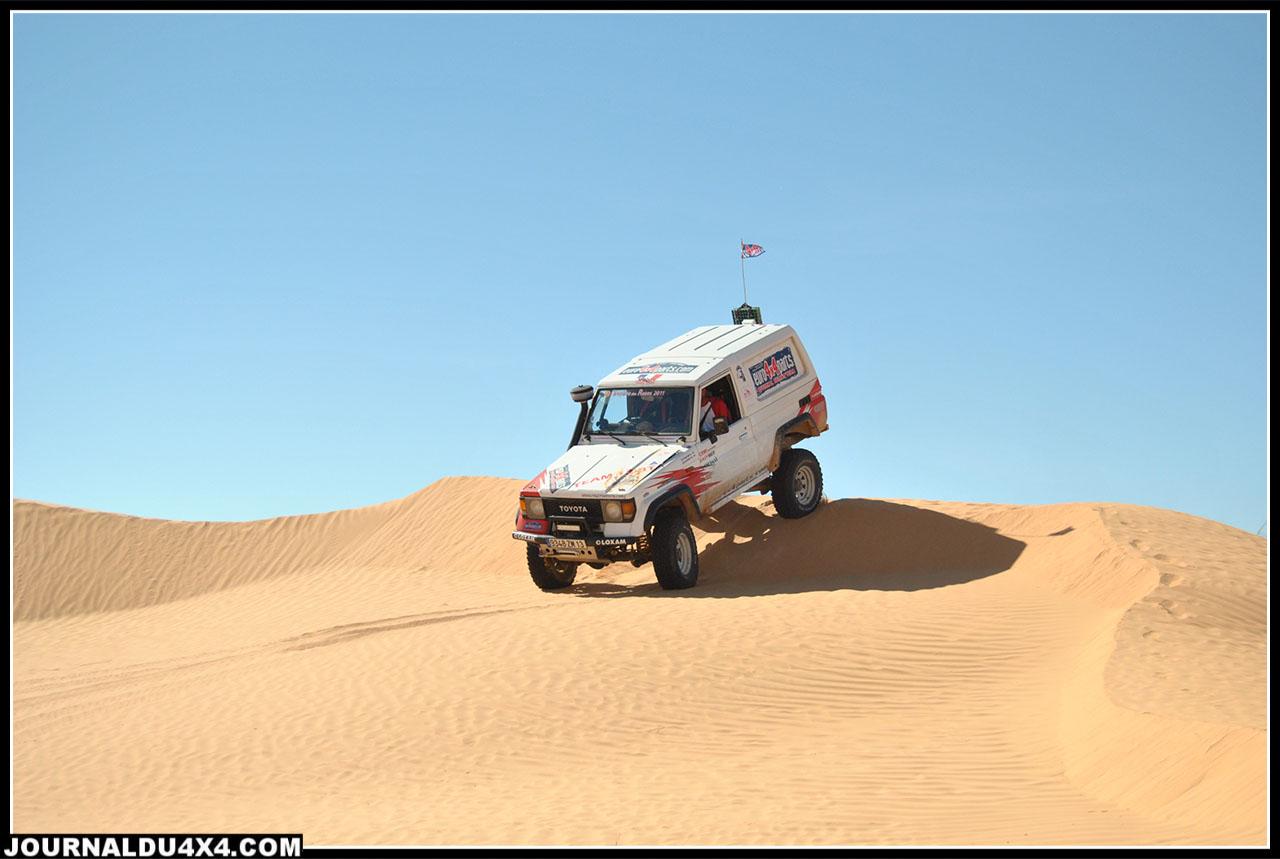 nous attaquons des cordons de dunes plus grandes: superbe!!!