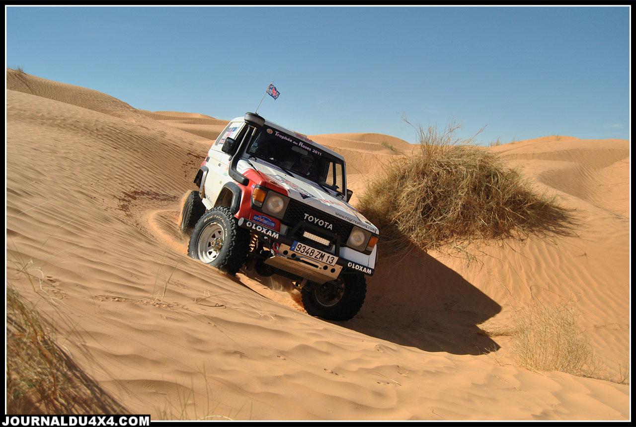 Le Team13BT et le TeamToy62 sur l'Xtrem Desert Race en Tunisie 2012
