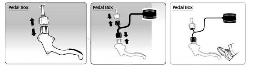 montage pedalbox