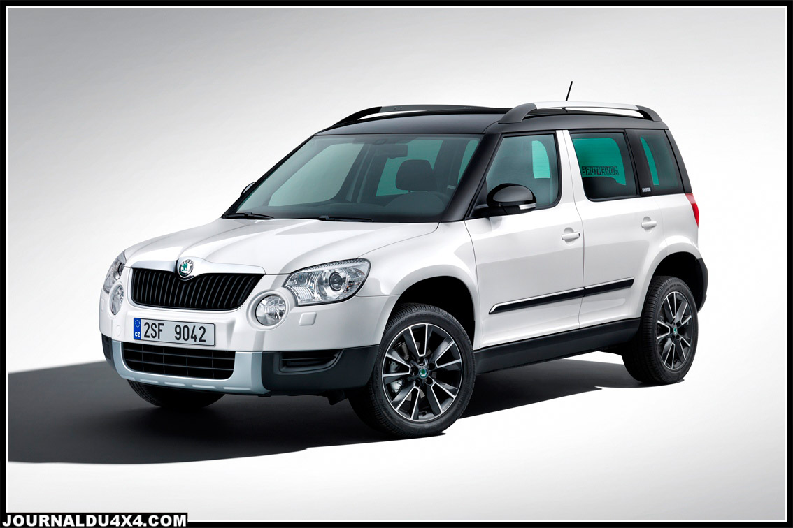 skoda yeti nouvelle s rie sp ciale yeti adventure magazine 4x4 suv. Black Bedroom Furniture Sets. Home Design Ideas