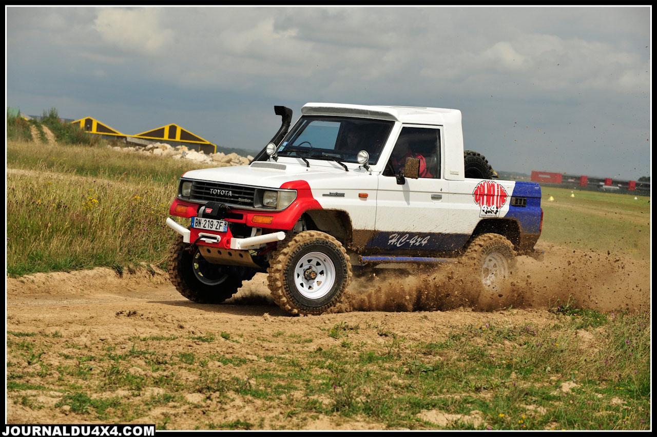 Toyota KZJ 73 préparation Breslau