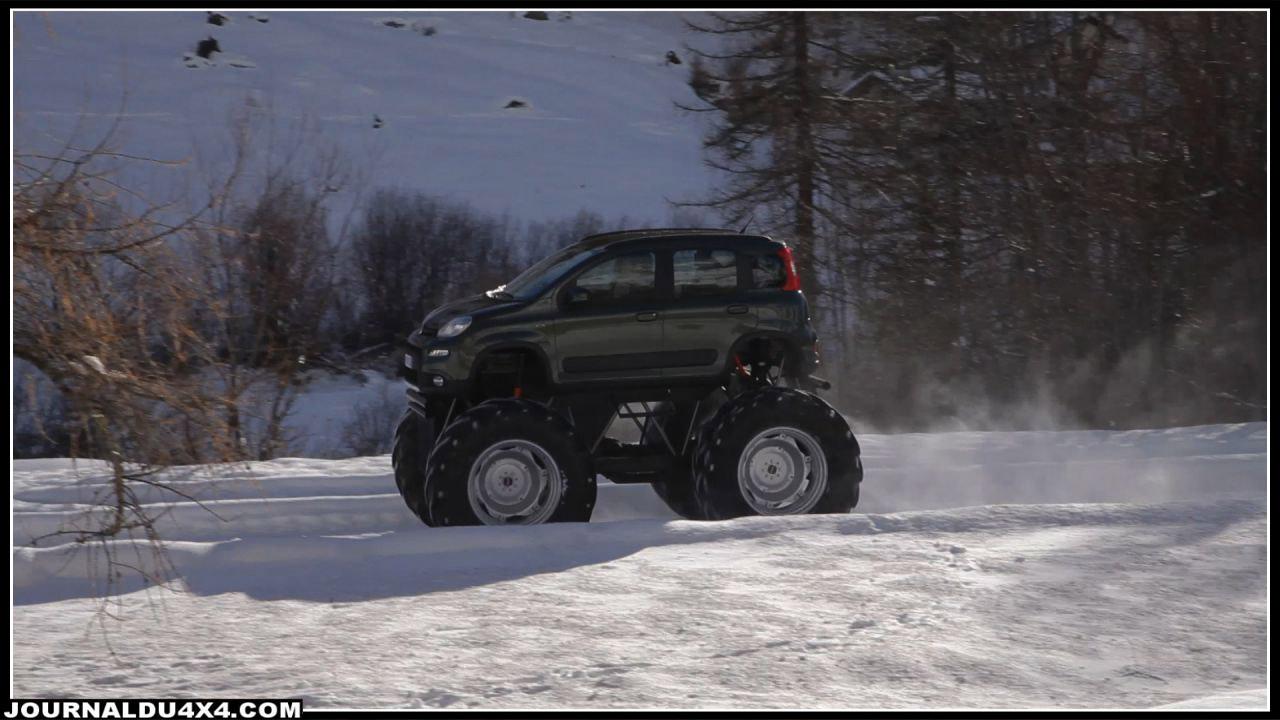 Fiat Panda 4x4 monster