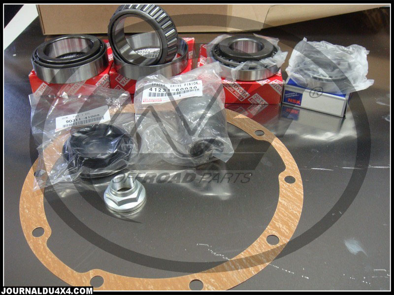 Kits de roulements et de distribution pour 4×4 Toyota