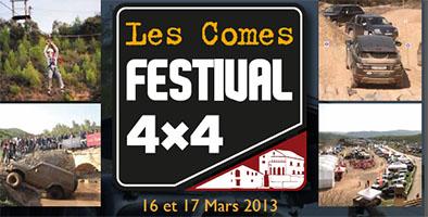Comes 4×4 festival 16 et 17 de Mars 2013