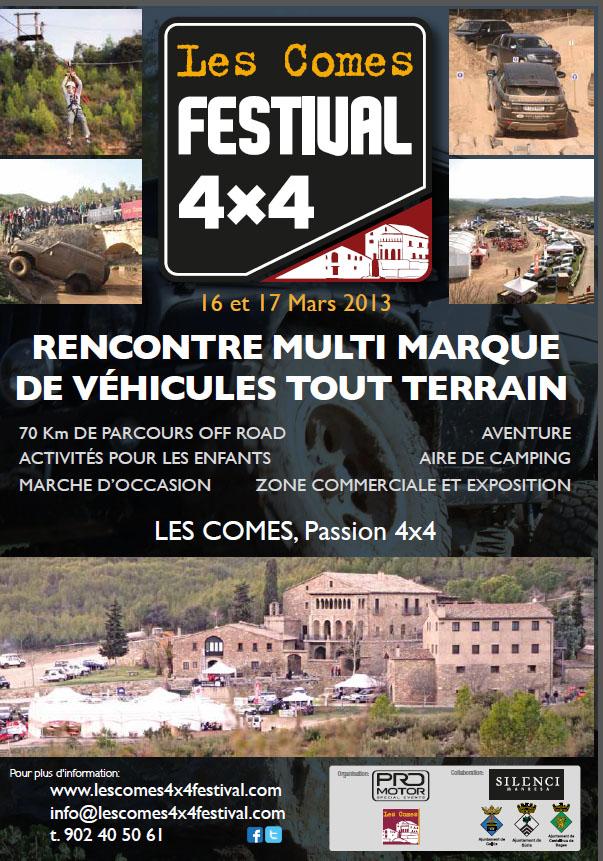 Les Comes 4x4 festival 16 et 17 de Mars 2013