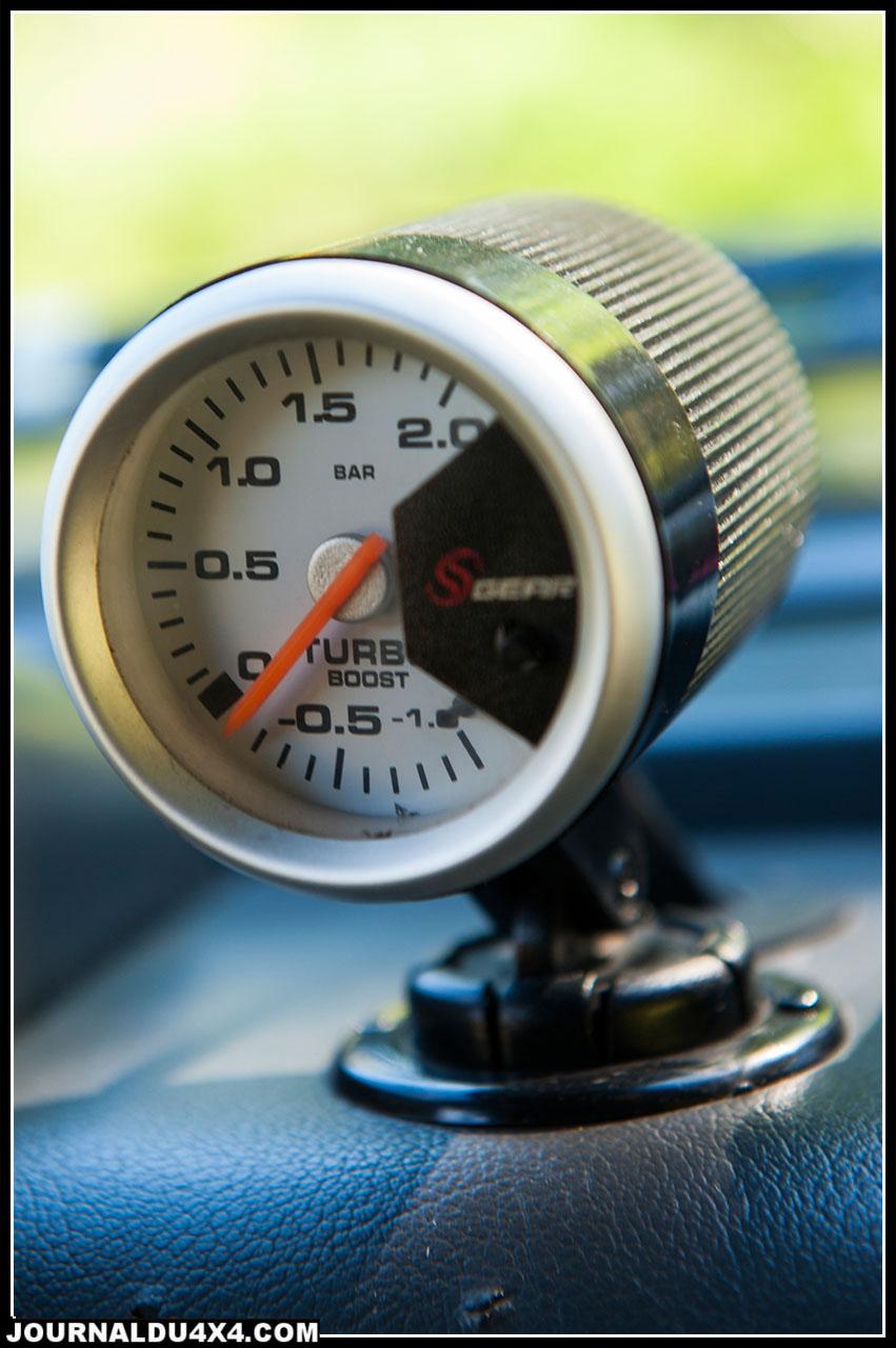 manometre pression de turbo