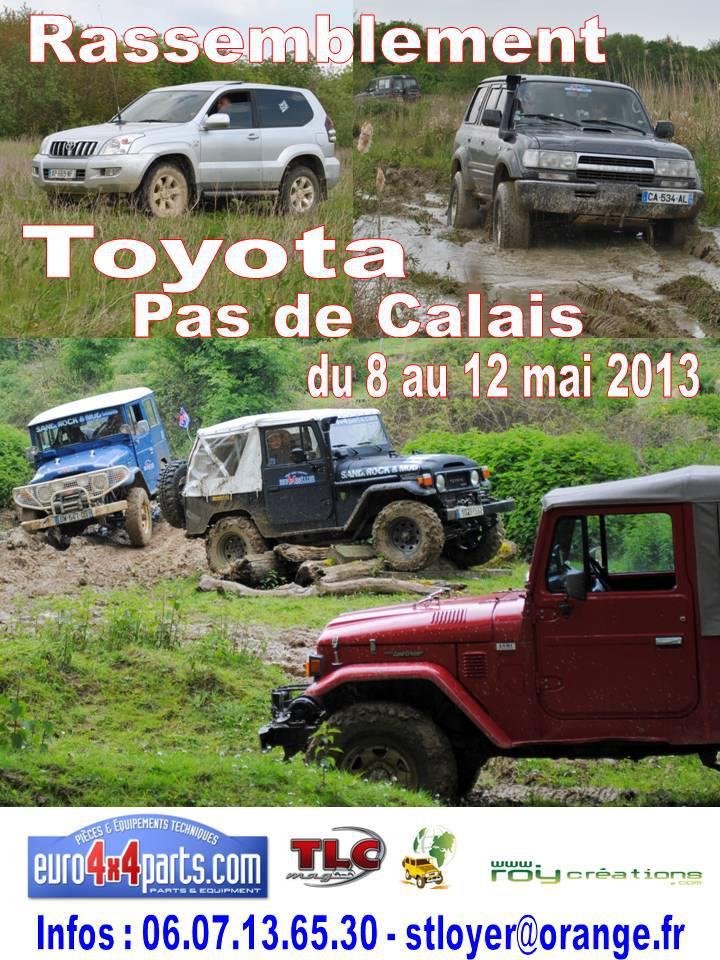 Rassemblement Toyota Pas de Calais 2013 8 au 12 mai 2013