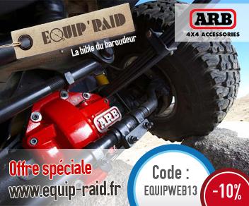 Equip'Raid fait une promotion spéciale ARB