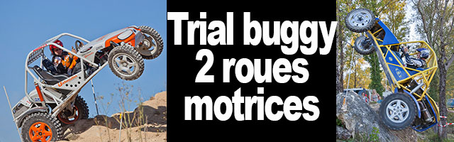 buggy trial 2 roues motrices