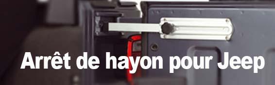 ARRET DE HAYON JEEP WRANGLER