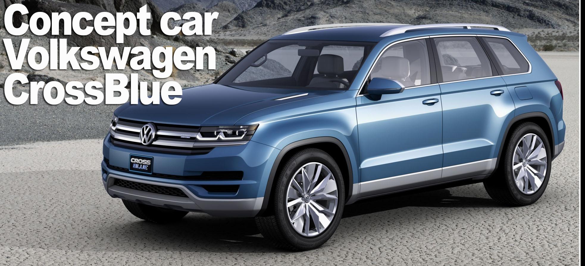 CrossBlue SUV Volkswagen