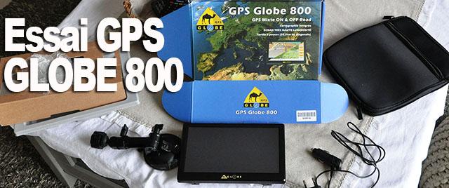 GPS Globe 800 : on a testé pour vous