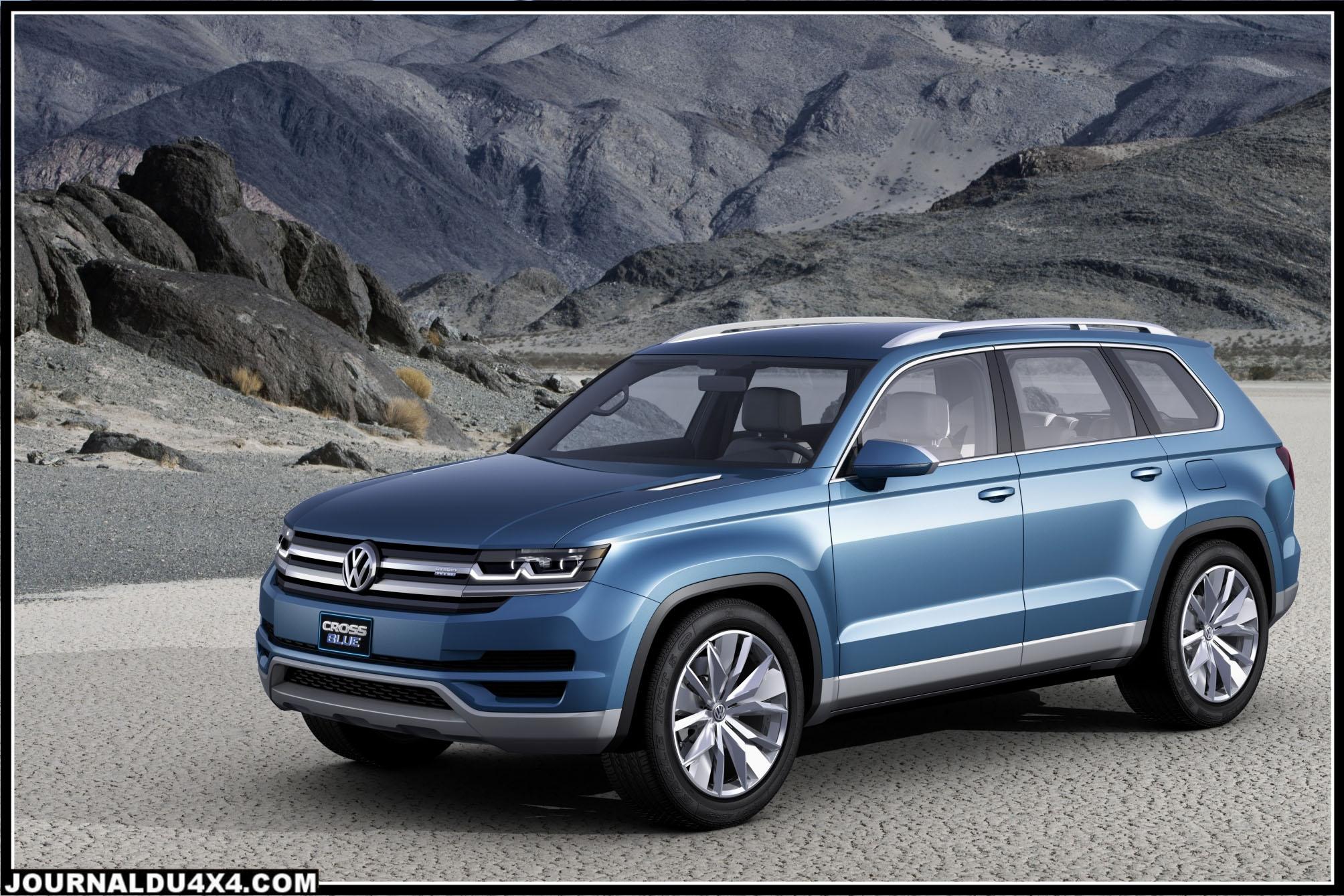 CrossBlue SUV Volkswagen = un concept car 4x4