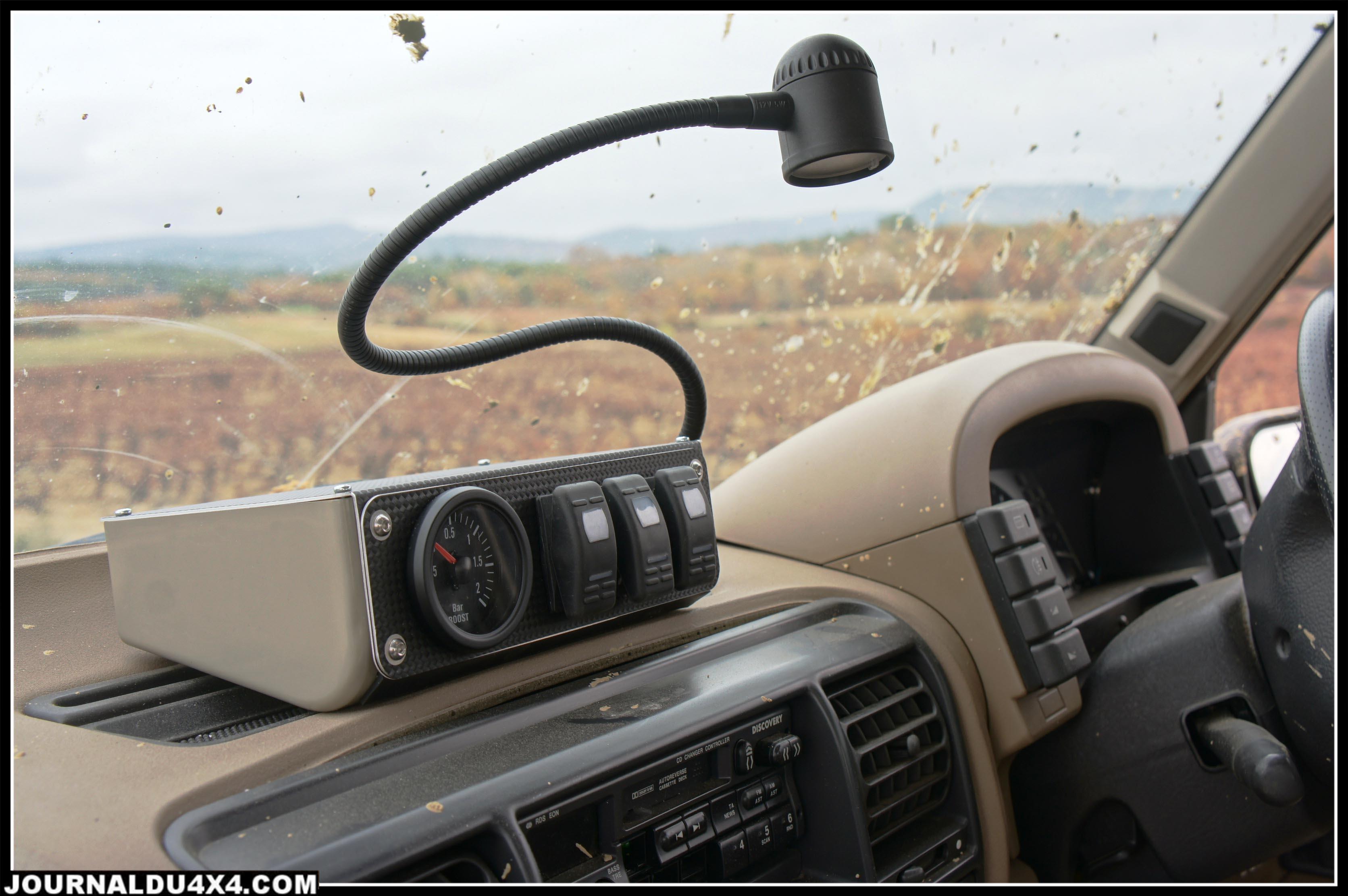 mini console sur un Disco 300 Tdi