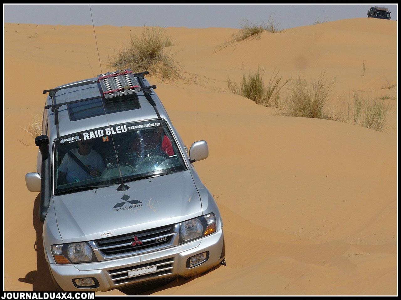 Club 4×4 Mitsubishi Evasion propose un Raid en Tunisie